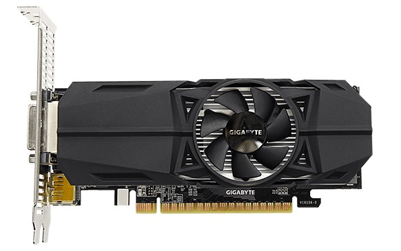 Gigabyte GeForce GTX 1050 Ti OC Low Profile 4G и GTX 1050 OC Low Profile 2G – спецификация